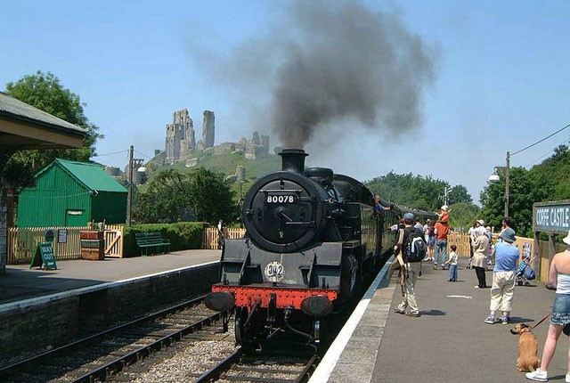 Swanage Steam Railway Station